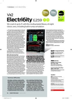 Computer Music Vir2 Electri6ity