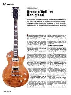 Guitar gear E-Gitarre - Vintage V100AFD Paradise
