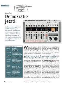 Soundcheck Zoom R24