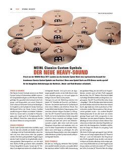 Sticks Meinl Classics Custom Cymbals