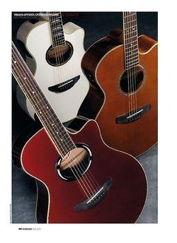 Guitarist Yamaha CPX700II