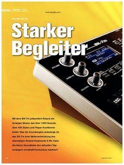 Tastenwelt Test: Roland BK-7m - Starker Begleiter