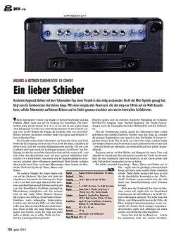 Guitar gear Amp - Hughes & Kettner Tubemeister 18 Combo