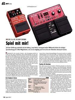 guitar gear Effekte - Boss RC-3 & RC-30 Loop Stations