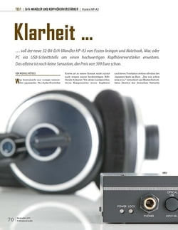 Professional Audio Fostex HP-A3