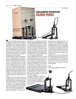 Sticks Schlagwerk Cajon-Pedal