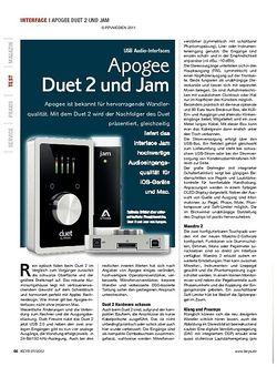 KEYS Apogee Duet 2 und Jam