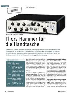 Soundcheck Test: Aguilar Tone Hammer 500