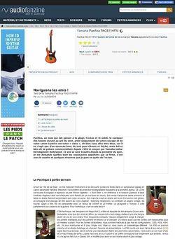 Audiofanzine.com Yamaha [Pacifica Series] PAC611HFM - Root Beer