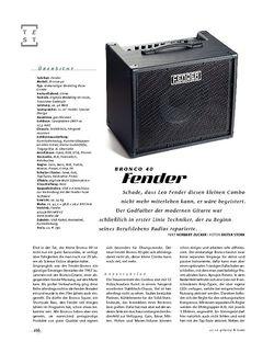 Gitarre & Bass Fender Bronco 40, Bass-Combo