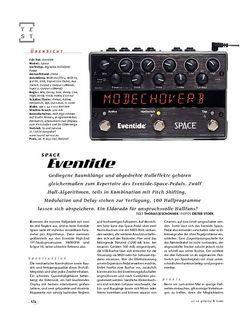 Gitarre & Bass Eventide Space, FX-Pedal