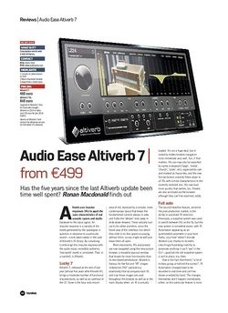 Future Music Audio Ease Altiverb 7