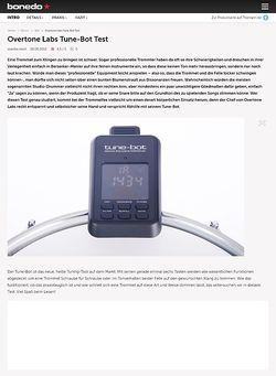 Bonedo.de Overtone Labs Tune-Bot