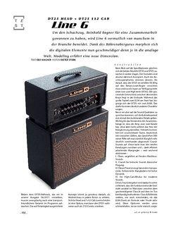 Gitarre & Bass Line 6 DT25 Head + DT25 112 Cab, Gitarren-Stack