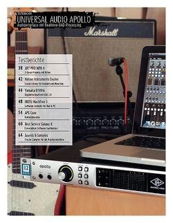 Sound & Recording Universal Audio Apollo: Audiointerface mit Realtime-UAD-Processing