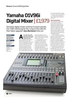 Future Music Yamaha 01V96i Digital Mixer