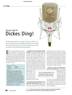 Soundcheck Test - Neumann TLM 49