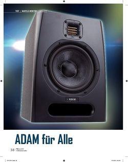 Professional Audio Adam F7
