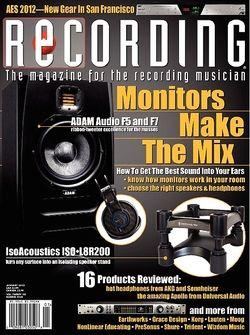 Recording Adam Audio F5 und F7