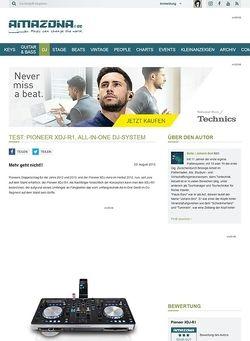Amazona.de Test: Pioneer XDJ-R1, All-In-One DJ-System