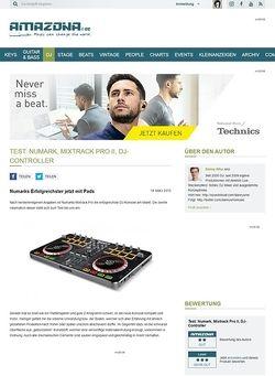 Amazona.de Test: Numark, Mixtrack Pro II, DJ-Controller