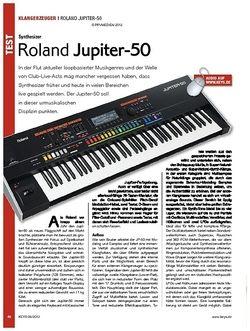 KEYS Roland Jupiter-50