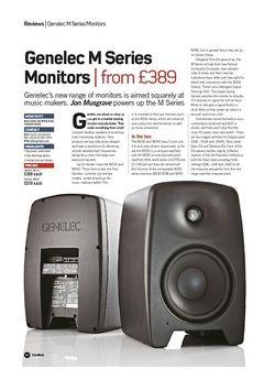Future Music Genelec M Series Monitors