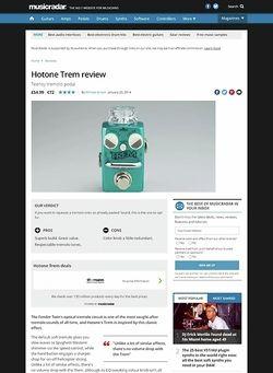MusicRadar.com Hotone Trem