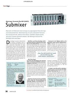 Soundcheck Test: Behringer Eurorack Pro RX1202FX