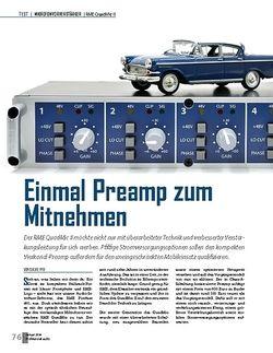 Professional Audio RME QuadMic II