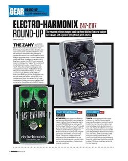 Total Guitar Electro-Harmonix East River Drive