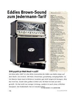 Gitarre & Bass EVH 5150III 50 Watt Head + 112ST, Kompakt-Stack