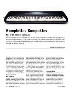 Keyboards Korg SP-280 - Portables Digitalpiano