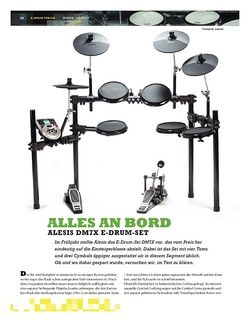 Sticks Alesis DM7X E-Drum-Set