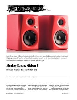 Sound & Recording Monkey Banana Gibbon 5 - Studiomonitore