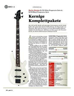 Guitar Harley Benton B-250 & B-550