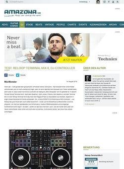 Amazona.de Test: Reloop Terminal Mix 8, DJ-Controller