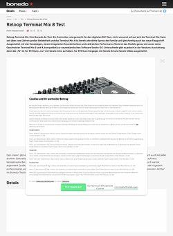 Bonedo.de Reloop Terminal Mix 8