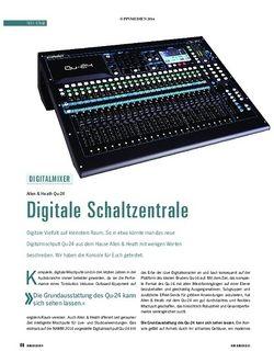 Soundcheck Allen & Heath Qu-24
