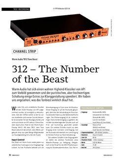 Soundcheck Warm Audio TB12 Tone Beast