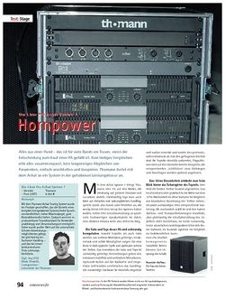 """Soundcheck Test: the t.box Pro Achat System 1 """"Hornpower"""""""