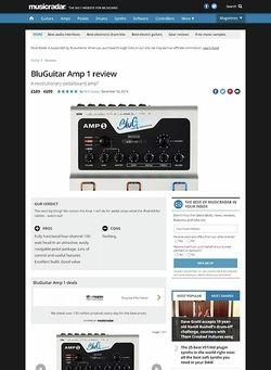 MusicRadar.com BluGuitar Amp 1