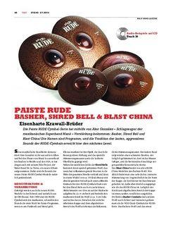Sticks Paiste Rude Cymbals