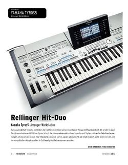Keyboards Yamaha Tyros5 - Arranger-Workstation
