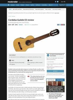 MusicRadar.com Cordoba Guilele CE