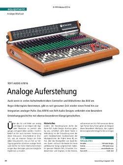 Recording Magazin Toft Audio ATB-16