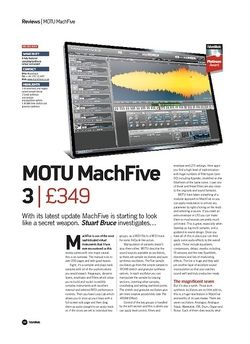 Future Music MOTU MachFive 3