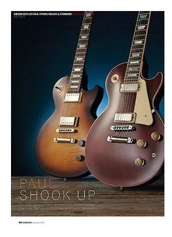 Guitarist Gibson 2015 Les Pauls