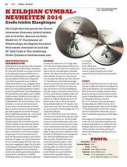 Sticks K Zildjian Cymbal-Neuheiten 2014