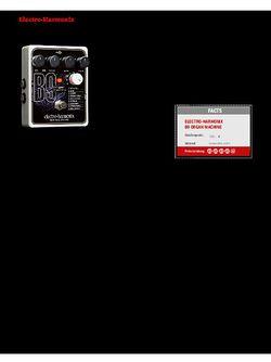 Guitar Electro-Harmonix B9 Organ Machine